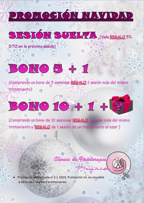 oferta navidad 2014